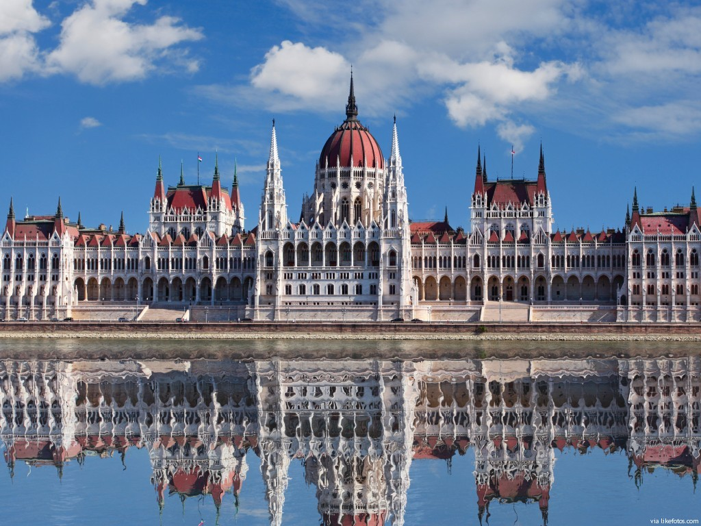 O Parlamento de Budapeste - Hungria